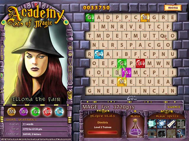 Academy of Magic: Word Spells Screenshot 1