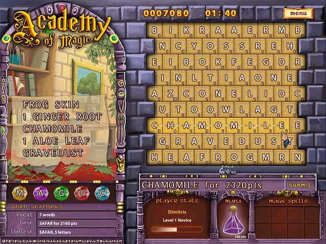 Academy of Magic: Word Spells Screenshot 3
