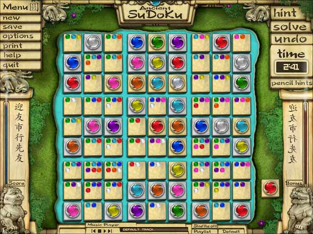 Ancient Sudoku Screenshot 4