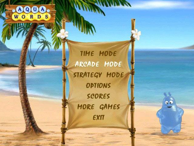 Aqua Words Screenshot 1