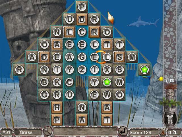 Big Kahuna Words Screenshot 1