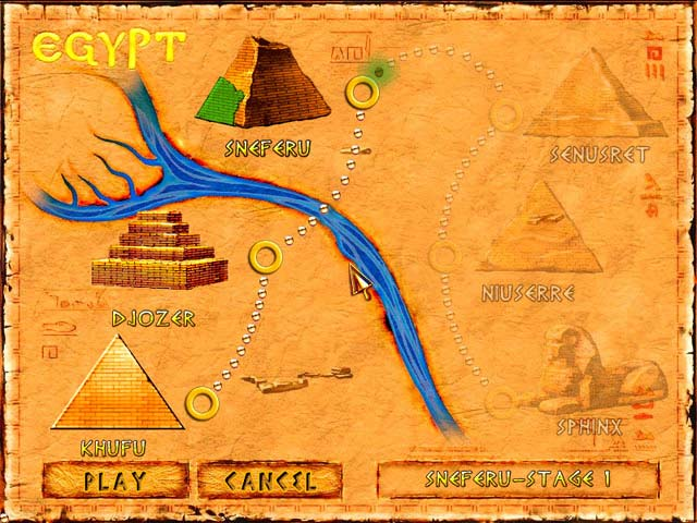 Brickshooter Egypt Screenshot 3