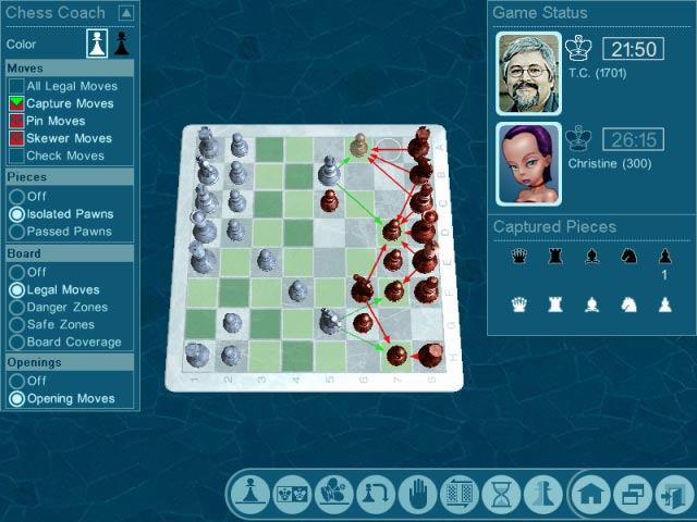 Chessmaster Challenge Screenshot 3