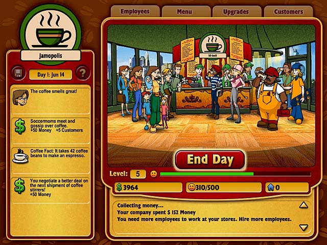 Coffee Tycoon Screenshot 1