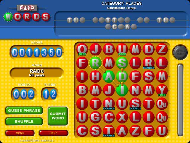 Flip Words Screenshot 1