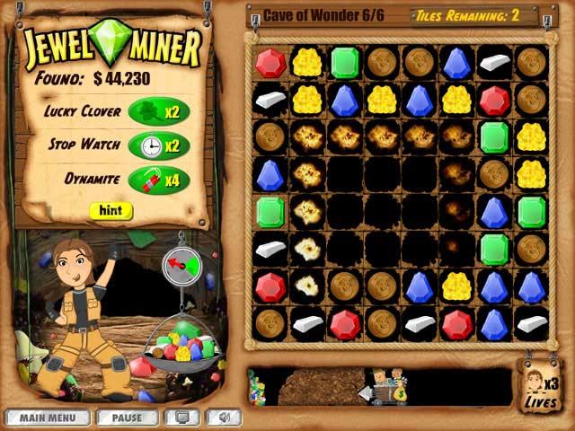 Jewel Miner Screenshot 3