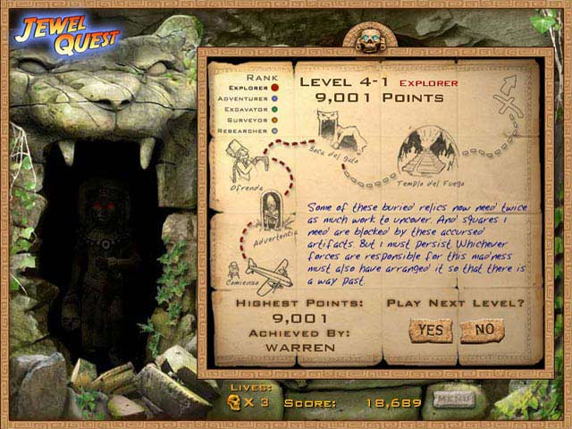Jewel Quest Screenshot 4