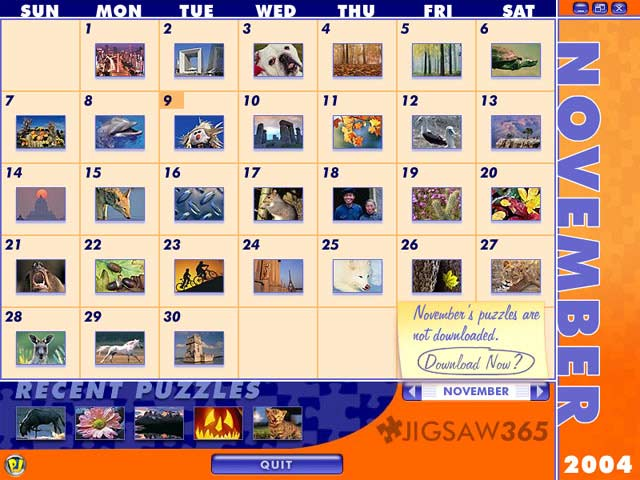 Jigsaw365 Screenshot 1