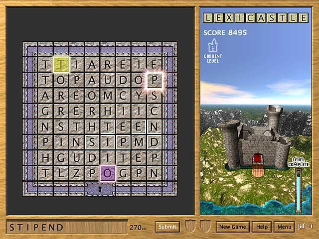 LexiCastle Screenshot 3