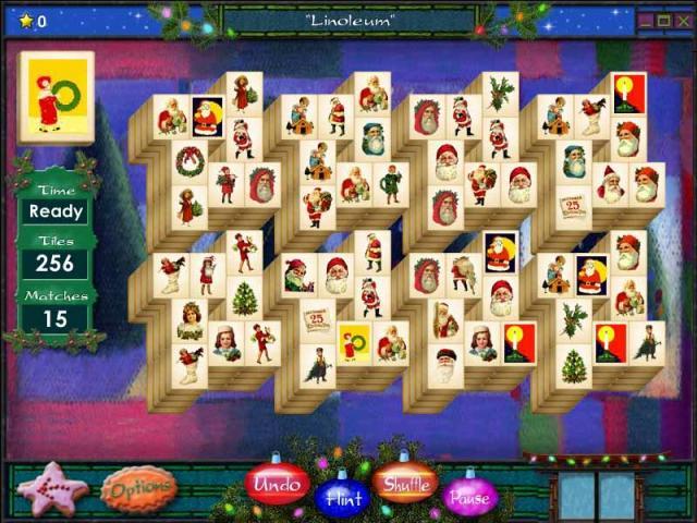 Mahjong Holidays 2005 Screenshot 1
