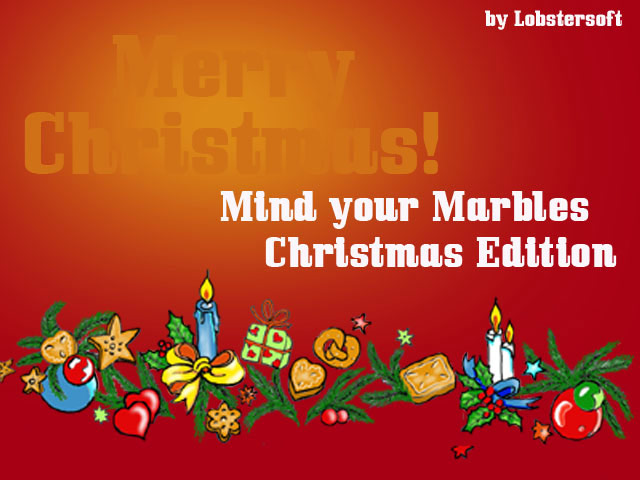 Mind Your Marbles Christmas Edition Screenshot 1