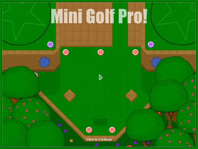 Mini Golf Pro Screenshot 1