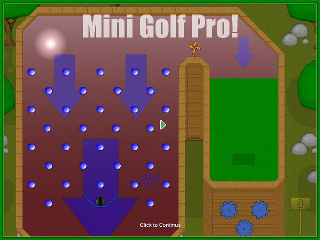 Mini Golf Pro Screenshot 2