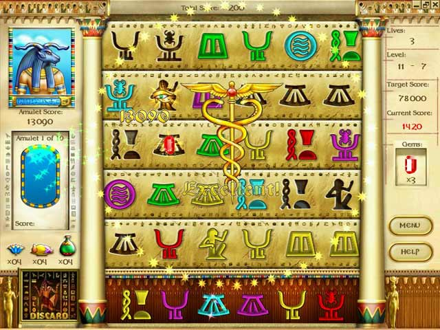 Mysteries of Horus Screenshot 1