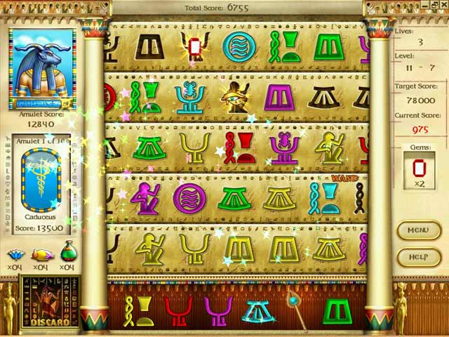 Mysteries of Horus Screenshot 3