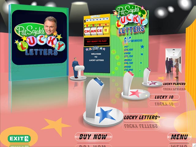 Pat Sajak's Lucky Letters Screenshot 1