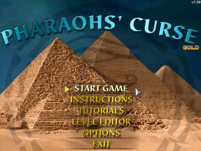 Pharaohs' Curse Gold Screenshot 1