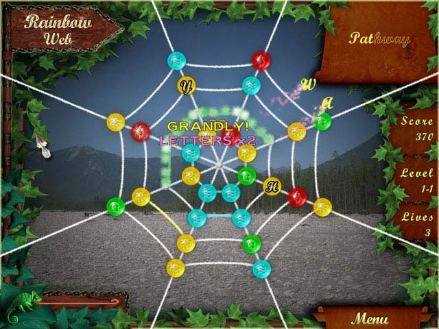 Rainbow Web Screenshot 1