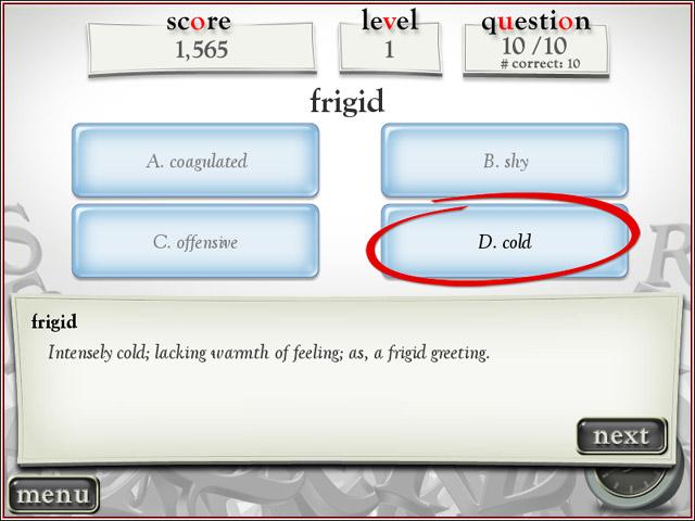 Reader's Digest Super Word Power Screenshot 1