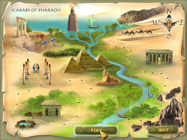 Scarabs of Pharaoh Screenshot 2