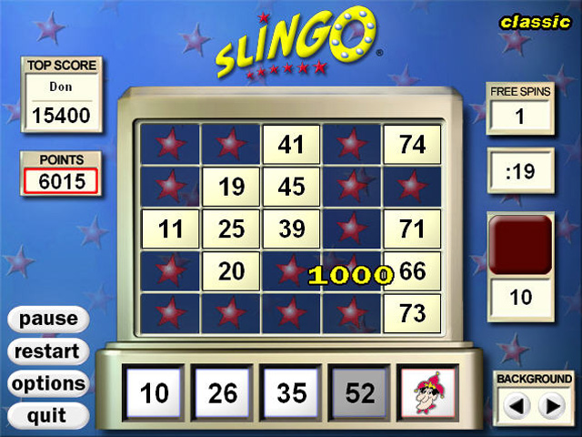 Slingo Deluxe Screenshot 4