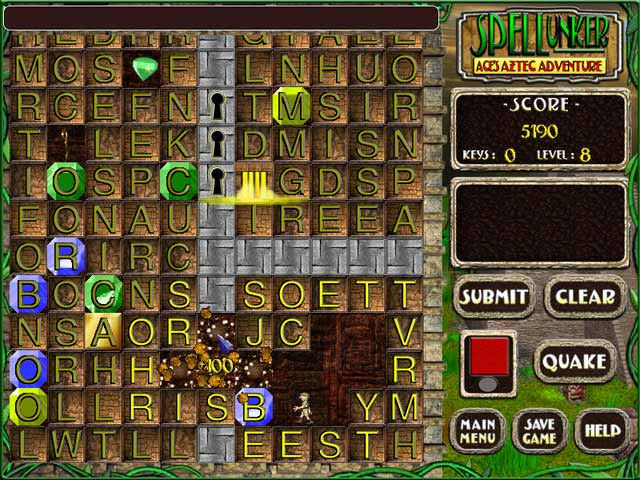 Spellunker-Ace's Aztec Adventure Screenshot 3