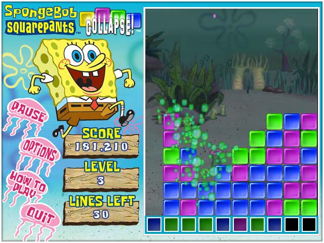 Spongebob Collapse Screenshot 1