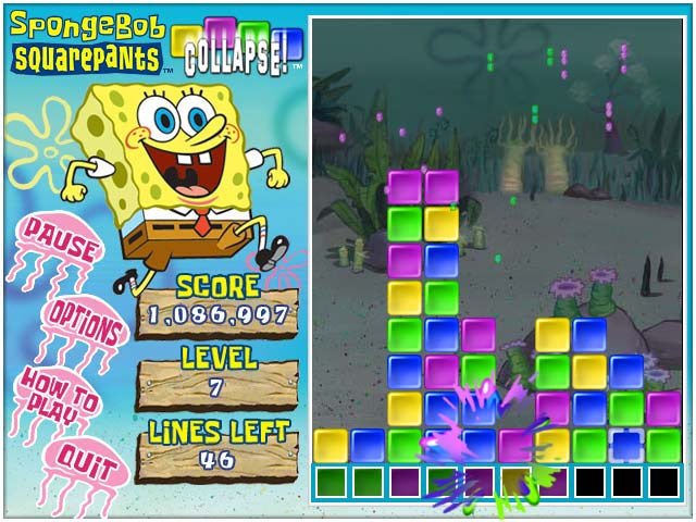 Spongebob Collapse Screenshot 3
