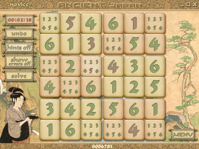Sudoku Pagoda Screenshot 1
