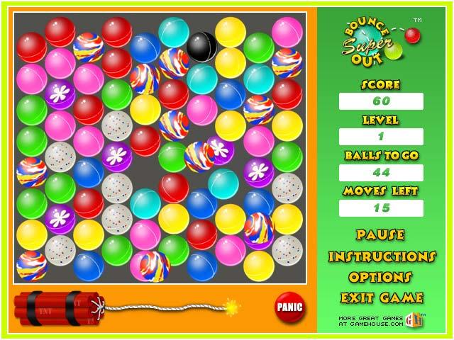 Super Bounce Out Screenshot 1