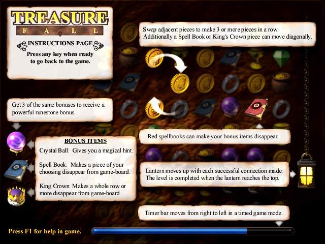 Treasure Fall Screenshot 3