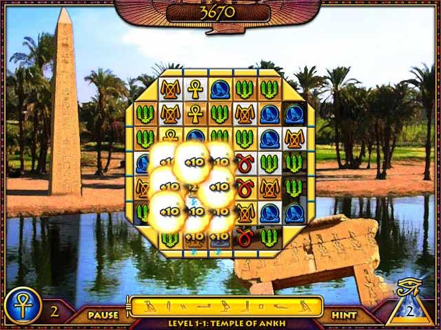 Treasure Pyramid Screenshot 1