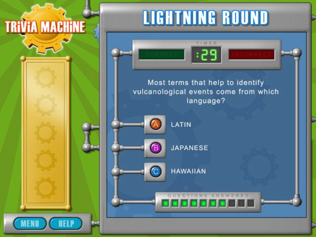Trivia Machine Screenshot 2