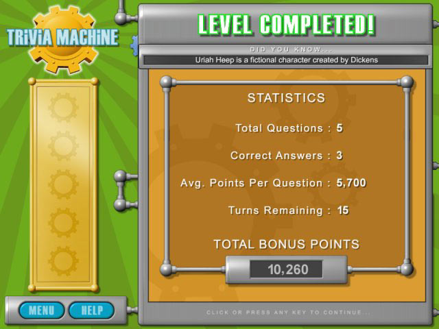Trivia Machine Screenshot 4