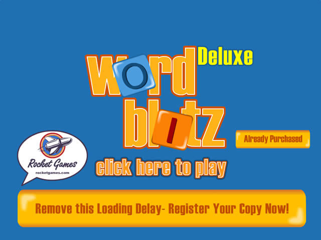 Word Blitz Deluxe Screenshot 1