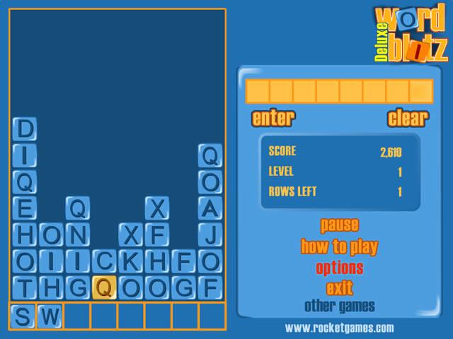 Word Blitz Deluxe Screenshot 2